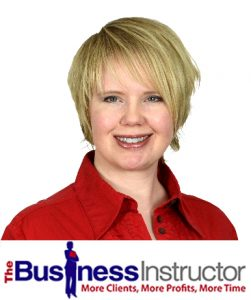 Michelle Peters, The Business Instructor